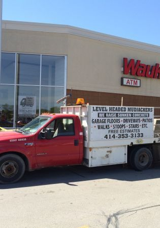 Level Headed Mudjackers Truck - Providing Concrete Leveling to Milwaukee